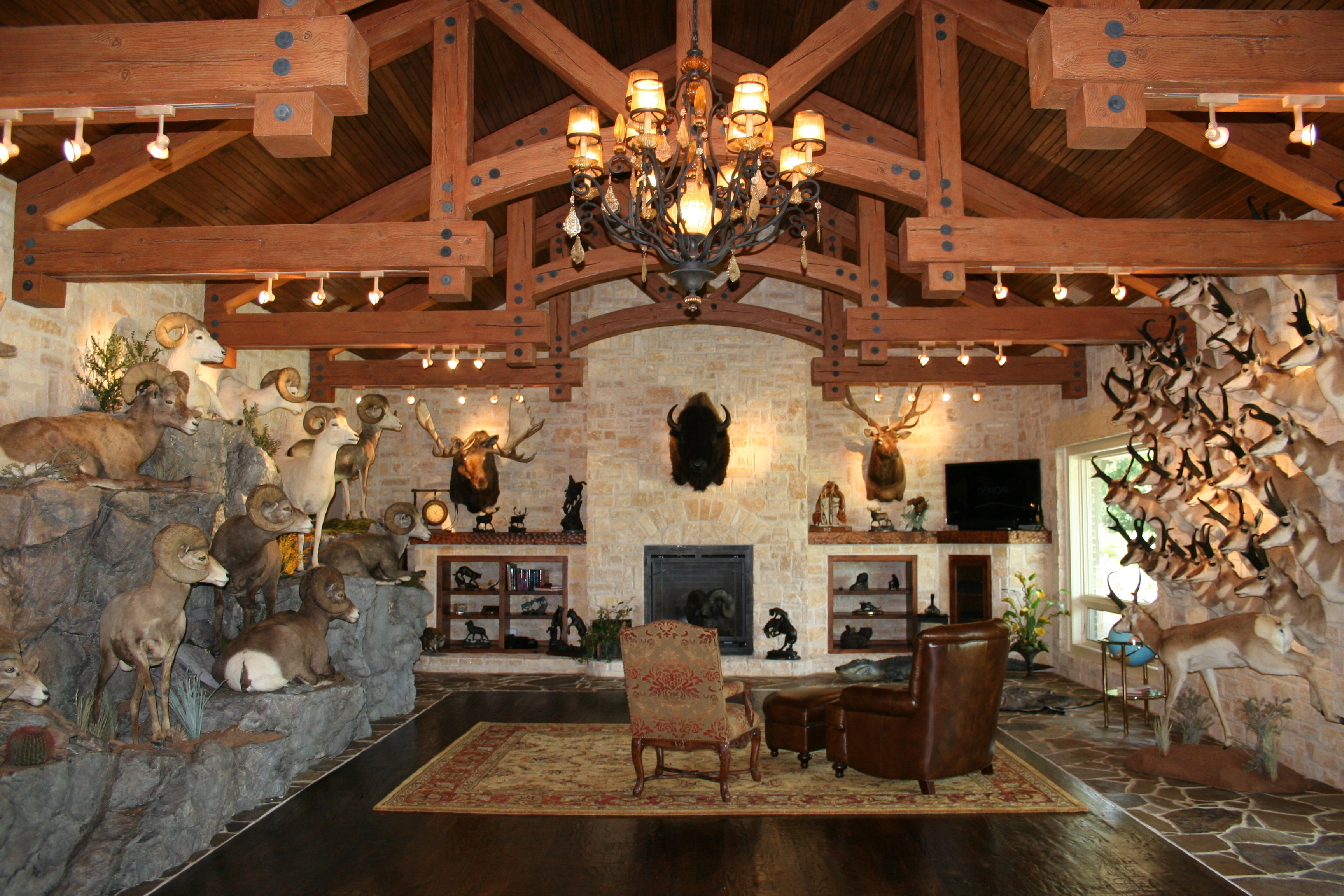 Texoma 39 s quality home builder does trophy rooms too for Trophy room design